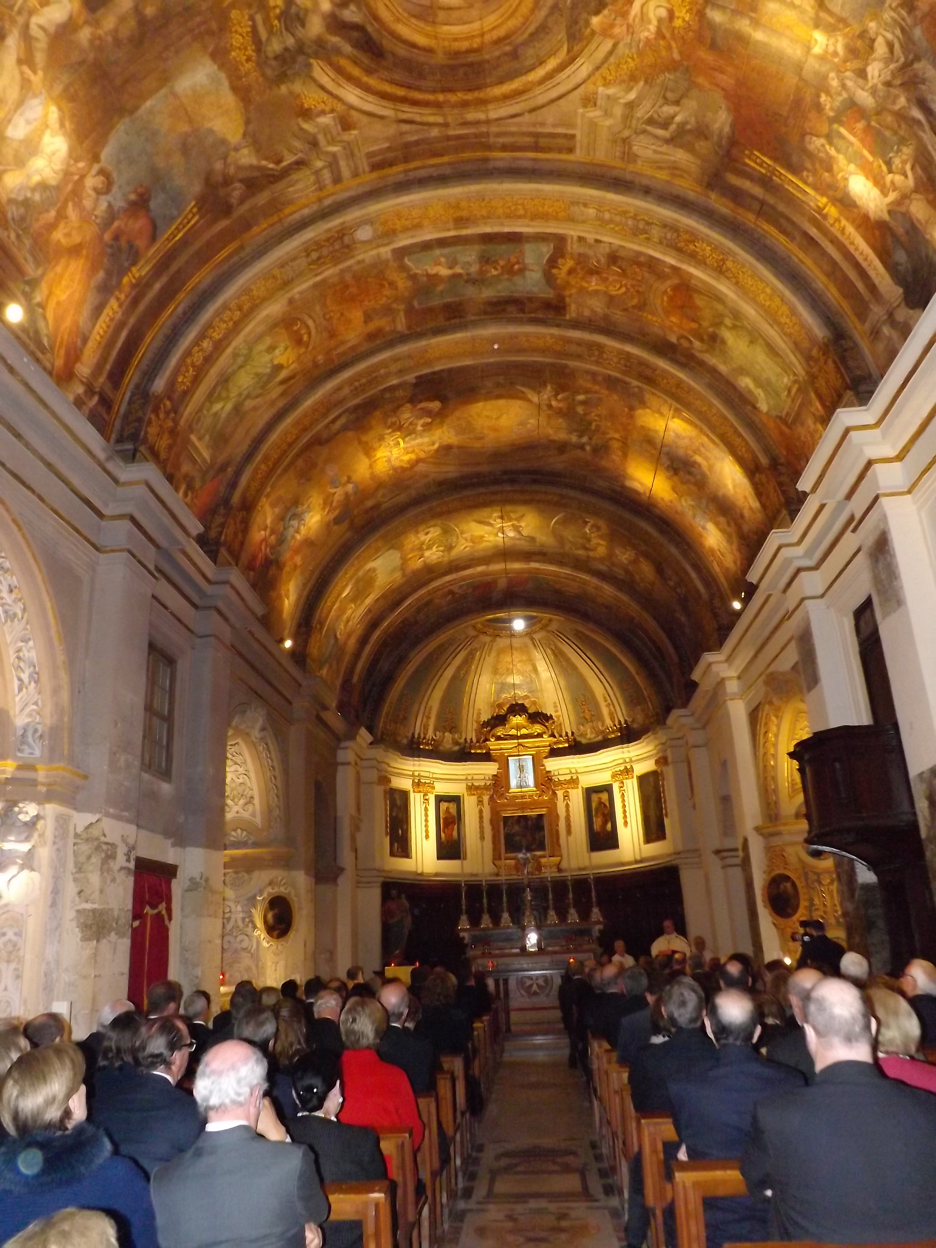 Thanksgiving Mass At Our Lady Of Victory Church Valletta