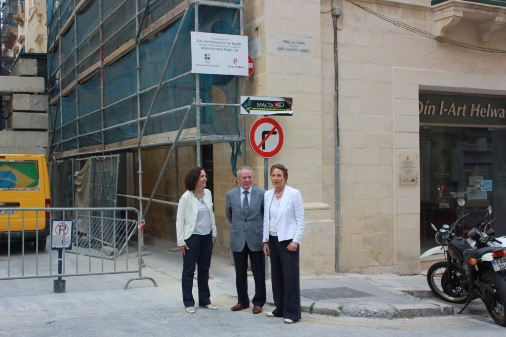HERITAGE CORNER RESTORATION TO BE FUNDED BY MALTA INDUSTRIAL PARKS