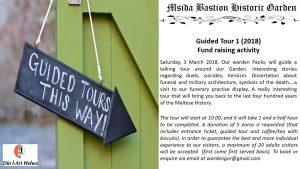 Guided Tour at Msida Bastion Historic Garden