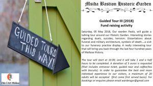 Msida Bastion Historic Garden Guided Tour III (2018)